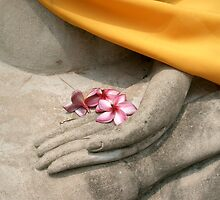 buddhist offering, thailand by chrisdade