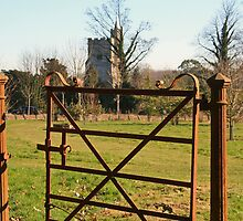 the rustic gate by Rexcharles