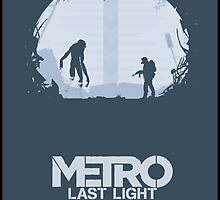 METRO LAST LIGHT Art by Solbessx