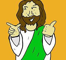 Jesus in Celtic attire by chromedome113
