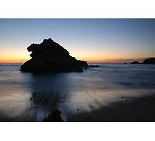 Island Rock Photographic Print