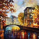 The River Of Memories — Buy Now Link - www.etsy.com/listing/169445820 by Leonid  Afremov