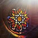 Stained Glass Sun rays by Scott Mitchell