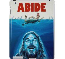 Big Lebowski Jaws Poster iPad Case/Skin