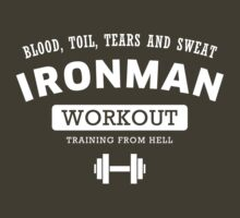 IRONMAN WORKOUT by hypetees