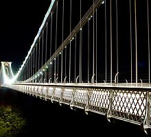 Clifton Suspension Bridge Looking West by Simon Pow