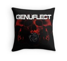 a Rose from the Dead Throw Pillow
