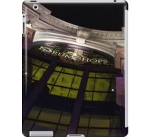 Another View of the Forum Shops Glamorous Entrance at Night iPad Case/Skin