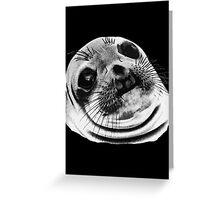 Awkward Seal Greeting Card