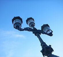 Street Lamp in Dublin by Clarity01