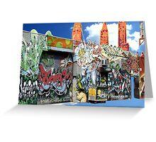 Graffiti in Brooklyn Greeting Card
