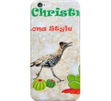 Merry Christmas- Arizona Style iPhone Case/Skin