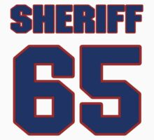 National football player Stan Sheriff jersey 65 by imsport