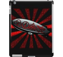 ANCIENT PAGAN SYMBOLS ON A ZEPPELIN - REEL STEEL/RED POP iPad Case/Skin