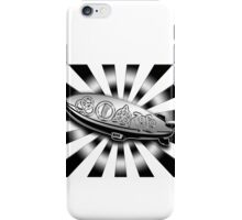 ANCIENT PAGAN SYMBOLS ON A ZEPPELIN - SHINY CHROME iPhone Case/Skin