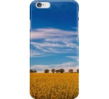 Canola fields iPhone Case/Skin