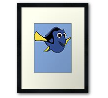 Hi I'm Dory and... Framed Print