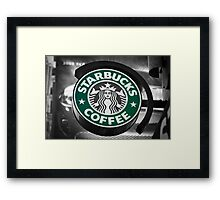 Star of Bucks Framed Print