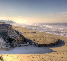 Half Moon Bay Beach by njordphoto
