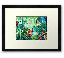 Carnival in the Jungle Framed Print