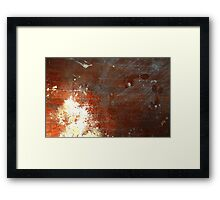 0265 - HDR Panorama - Construction Footprints 1 Framed Print