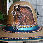 Tom Mix hat w/ friends blood arabian by Anartist