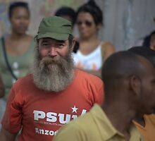 Fidel lookalike, Havana by Chris Fick