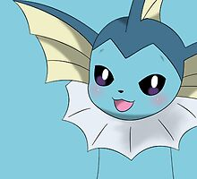 """Vaporeon """"Without Name"""" by Winick-lim"""