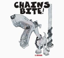 Chains Bite - Dogs Deserve Better by Hoffard