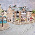 Watercolour . Silverdale Lancs UK by Irene  Burdell