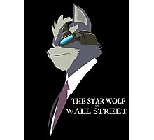 The Star Wolf of Wall Street Photographic Print