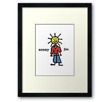 Sonny Jim Framed Print
