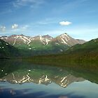 Alaskan Lake View by marcantony