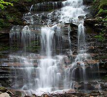 Ganoga Falls by Ben Kemp