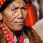 Hill woman in Shimla by Mottoy