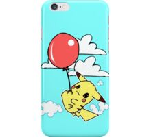 Pikachu balloon iPhone Case/Skin