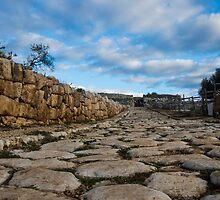 Road in ancient Norba by Acalstudio