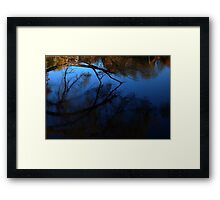 0534 - HDR Panorama - Undertow Framed Print