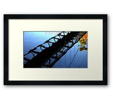 0539 - HDR Panorama - Walking Bridge Framed Print