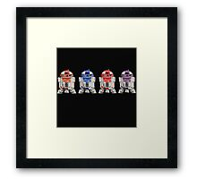 TEENAGE MUTANT NINJA ROBOTS...  Framed Print