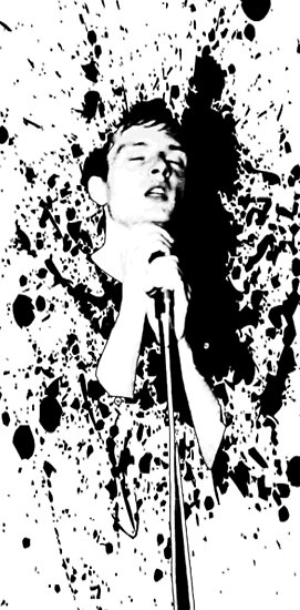 Ian Curtis 'Joy Division' by John Bowie