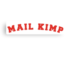 Mail Kimp - On Colours Canvas Print
