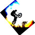 BMX Silhouette by Richard Edwards