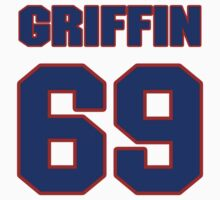 National football player Wade Griffin jersey 69 by imsport