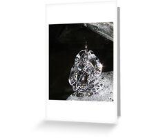 Icy Diamonds Greeting Card