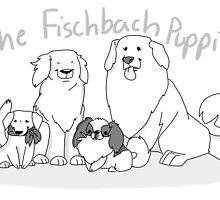 The Fischbach Puppies by Shuploc