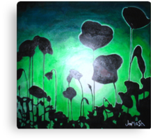 Poppies of Peace Canvas Print