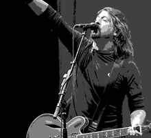 Dave Grohl - The Point Black by rikovski