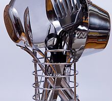 Cooking utensils by Alistair Balharrie