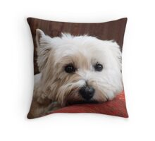 Molly the Westie Throw Pillow